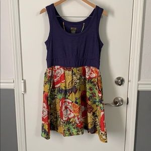 Anthropologie Fei dress with pockets L GUC